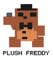Plush Freddy (Five Nights at Freddy's) Series 2 8-Bit Buildable Figure