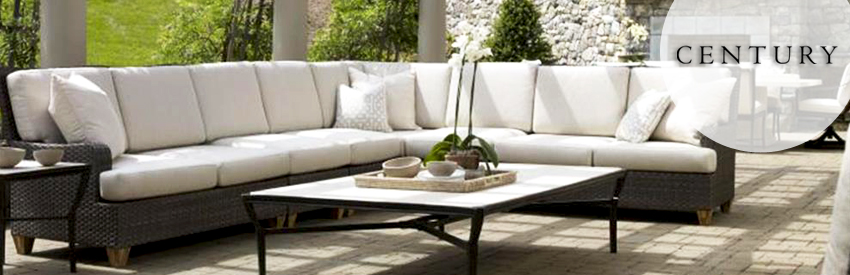 Made by award-winning designer Richard Frinier, Century Leisure outdoor  furniture brings a high-end, luxury look to any outdoor area.
