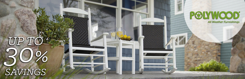 Poly-Wood is a leading manufacturer of maintenance-free outdoor furniture  made from HDPW, which is derived from recycled milk jugs.