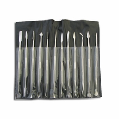 12 Piece Stainless Steel Double Headed Pick Set - #S9259