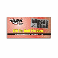 120 Piece Roll Pin Kit - #Rp1120