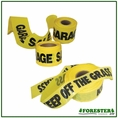 "200' X 3"" Garage Sale Yellow Safety Tape - #Bt202"