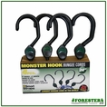 "24"" (4) Piece 5"" Monster Hook Bungees - 2"" Mouth. Part #Pn200"