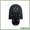 Forester 3 Rivet Tip Bar Sprocket Nose - 3/8 .050/.063