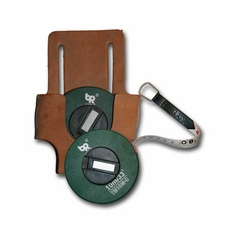 33 (10m) Tape Measure With Leather Tool Belt Holster #Tm10