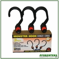 "36"" (3) Piece 5"" Hook Bungees - 2"" Mouth. Part #Pn201"
