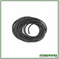 """50' Forester Black Rubber Fuel Line - 3/16"""" ID x 5/16"""" OD"""