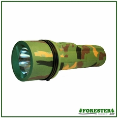 "8.5"" Rubber Coated Flashlight - #Spc2d"