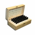 """8mm X 2-1/2"""" Letter & Number Punch Boxed Set - #T9099"""