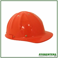 Forester Aluminum Cap Style Hard Hat - Orange