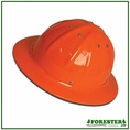 Forester Aluminum Full Brim Hard Hat - Orange