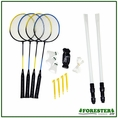 Deluxe 19 Piece Badminton Set #62914