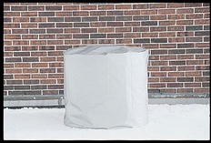 """W.J. Dennis Round Central Air Conditioner Cover - 30""""(H) x 34""""(Dia)"""