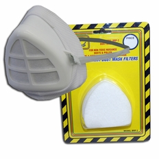Filter Dust Mask W/ 10pk Replacement Filters #Hm105x