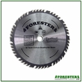 "Forester 50 Tooth Carbide Tip Brush Blade - 10"" x 1"" / 20mm Arbor -  FORCB1050"