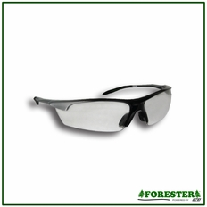 Forester Superior Coverage Safety Glasses - Clear Lens