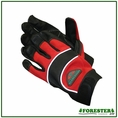 Forester 100% Black Natural Goatskin Leather - Red Back #Fogl1013