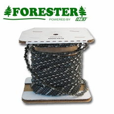 "Forester 100ft Roll - 3/8""ext .043 Low Profile Non-Safety Chain Saw Chain"