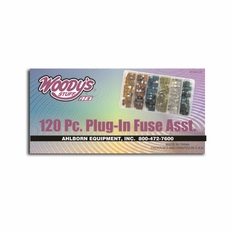 Forester 120 Piece Assorted Plug-In Fuse Kit - #Tx6120