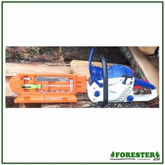 "Forester 17"" Bar Guard w/ Built in Tool Maintenance Box - 3/16"" File"