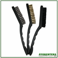 "Forester 3 Piece 9"" Wire Brush Set - #For2193"