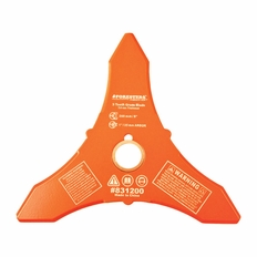 """Forester 3 Tooth Brush Cutter Blade - 8"""" Diameter x 1"""" or 20mm Arbor"""
