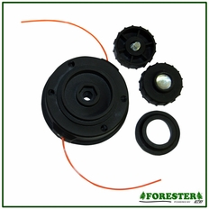 """Forester 4"""" Dual Line Tap-N-Go Head #For1222"""