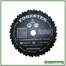 "Forester 9"" 24 Tooth Brushcutter Blade #Forxrt22525"