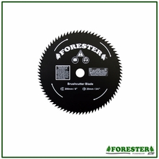 Forester 9, 80 Tooth, 1 Hole Brush Blade - #For17025