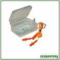 Forester Boxed Triple Flange Silicone Earplugs #Forest3001cb