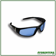 Forester Chrome Accent Safety Glasses - Amber, Blue & Yellow Lens