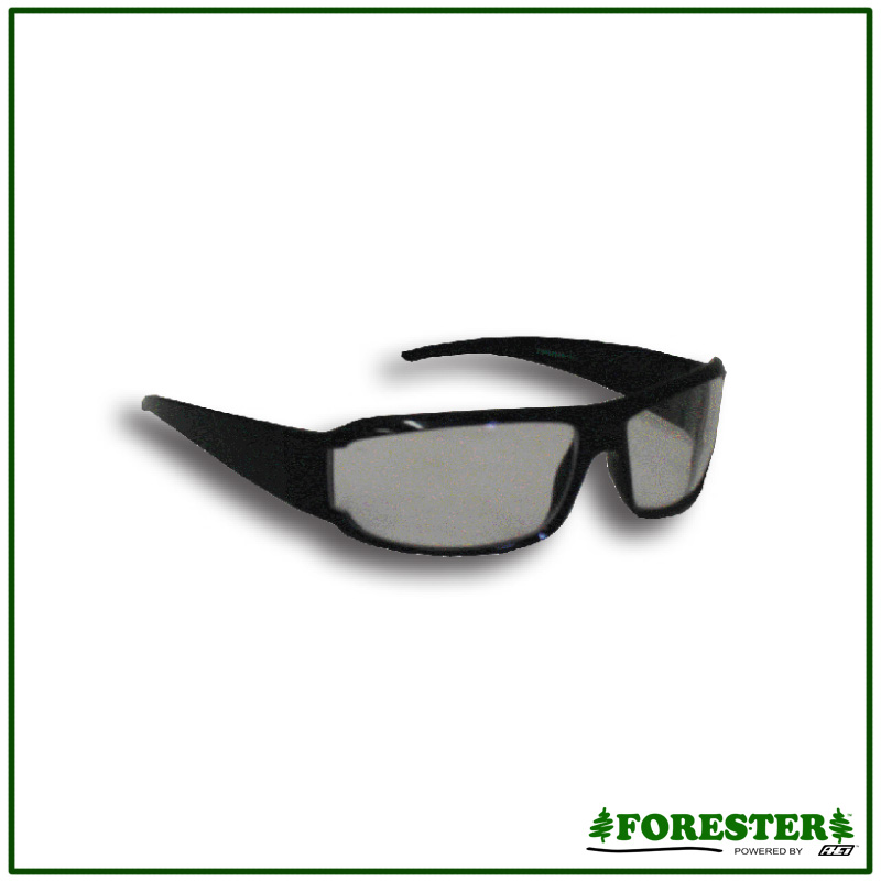 Clear Frame Glasses Malaysia : Forester Retro Frame Safety Glasses - Clear or Tinted