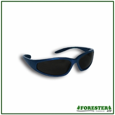 Forester Colored Frame Safety Glasses -  Smoke Lens