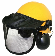Forester Complete Woodsman Helmet System - Yellow