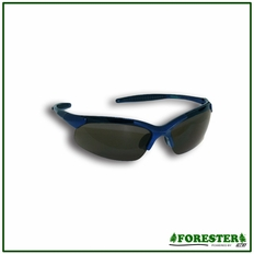 Forester Curved Frame Safety Glasses - Smoke Lenses
