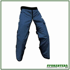 """Forester Denim Jean 40"""" Apron Style Chainsaw Chaps"""