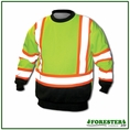 Forester Double Weight Class 3 Hi-Vis Safety Sweatshirt - EXTREMEDWS