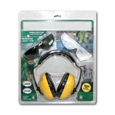 Forester Ear And Eye Protection Kit Bonus Combo - Yellow Muffs