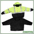 Forester Hi-Vis Extreme Jacket System - Removable Fleece