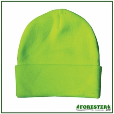Forester Kids Hi-Vis Green Knit Hat #00794