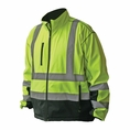 Forester Hi-Visibility Soft Shell Water Repellant Jacket - Class 3