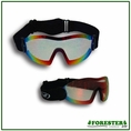 Forester Mirrored Clear Shatterproof Goggles