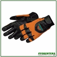 Forester Orange Kevlar Lined Anti-Vibration Chainsaw Gloves