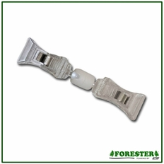 Forester Plastic Sign Display Clip - Double Sided - 10PK