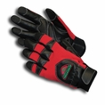 Forester Red Kevlar Lined Anti-Vibration Chainsaw Gloves