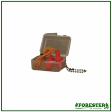 Forester Reusable Corded Ear Plugs - Hard Case - Forest2001B