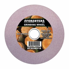 """Forester 8"""" x 1"""" Arbor x 1/8"""" Saw Chain Grinding Wheel"""