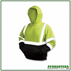 Forester Single Weight Class 3 Hi-Vis Pullover Hooded Sweatshirt - P028020
