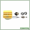 Forester Tune-Up Kit for Husqvarna Chainsaws - 445, 445E, 450, 450E