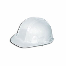 Forester White Cap Style Safety Helmet - #8500